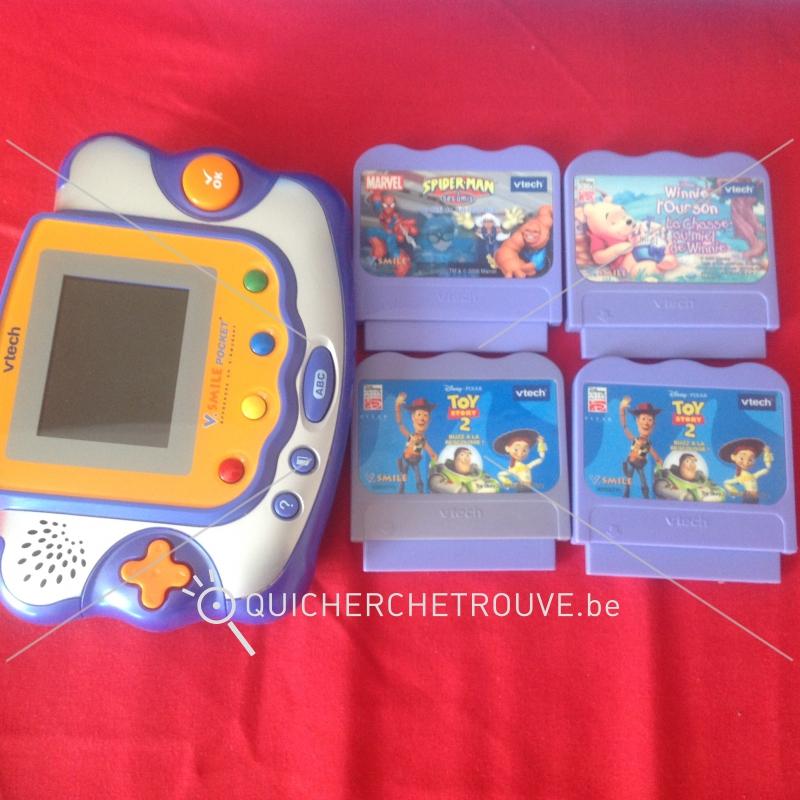 A vendre duo console de jeux vtech vsmiles pocket petites annonces jeux jouets belgique - Console de jeux a vendre ...