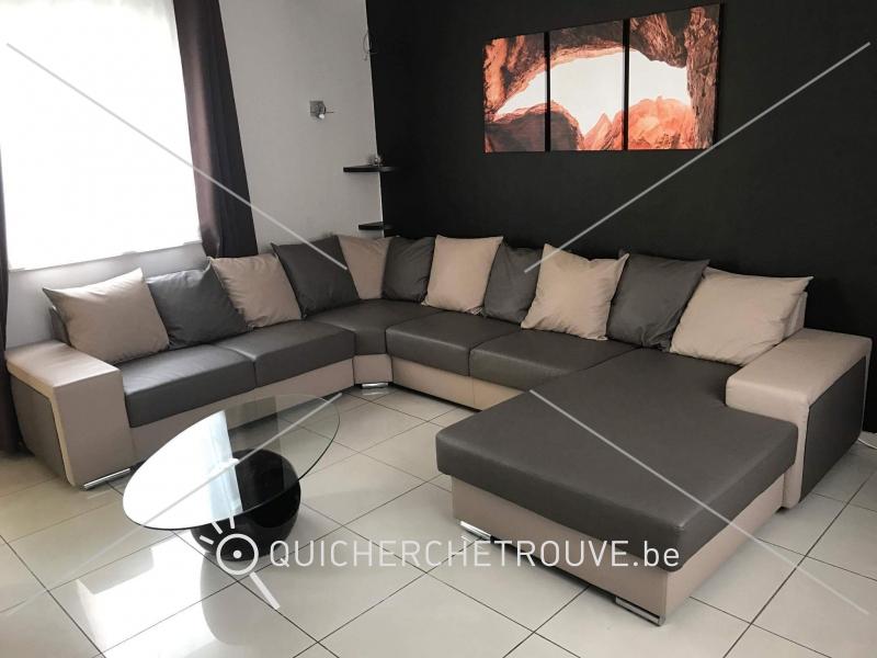 A vendre salon d 39 angle petites annonces maison for Achat salon belgique