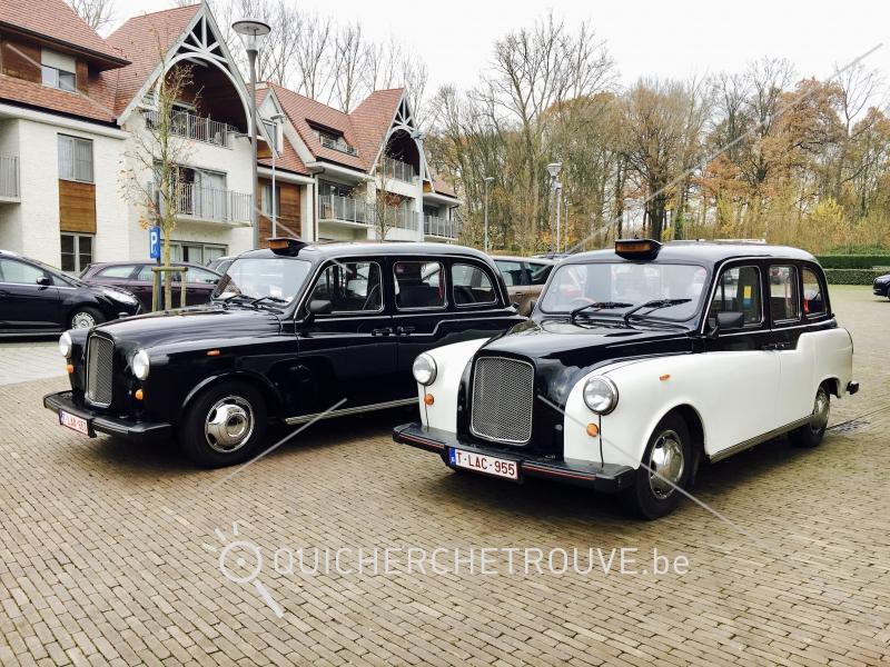 a louer voiture de mariage taxi anglais noir et blanc petites annonces autos belgique. Black Bedroom Furniture Sets. Home Design Ideas