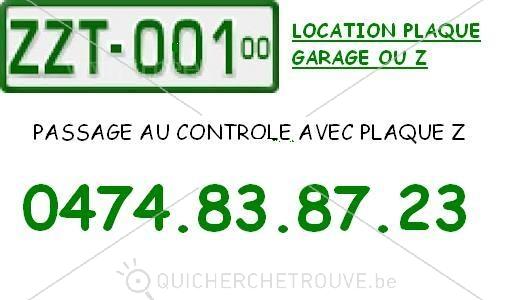 Propose passage au contr le technique avec plaque garage for Garage controle technique toulouse